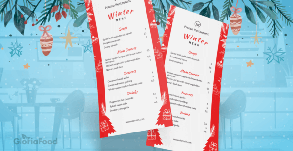 Love at Frost Sight: 15 idee per menu invernali per ristoranti