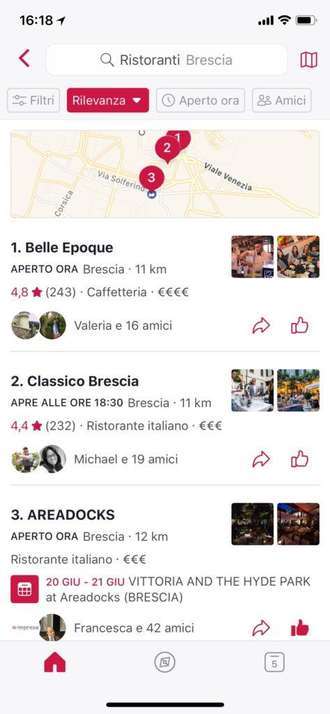 Facebook Local Recensioni