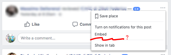 Facebook eliminare recensione senza commento